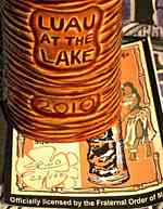 Luau At The Lake 2010 Mug - 121296